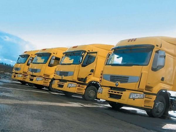 Импорт грузовиков в Россию сократился в три раза