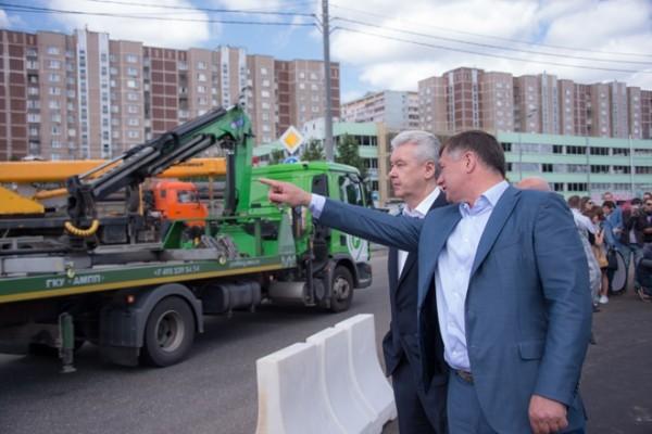 Пропускная способность Варшавского шоссе увеличилась на 25%