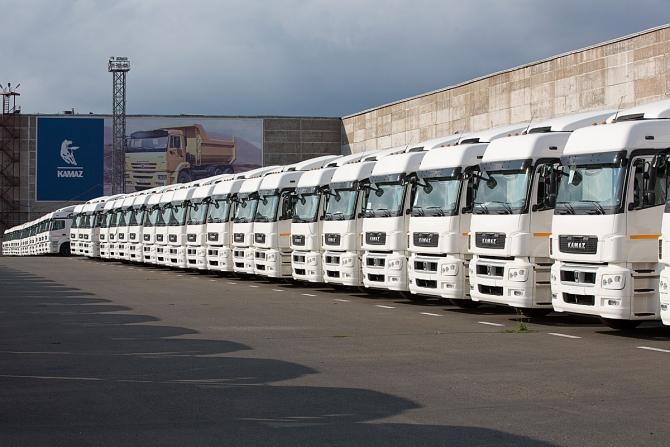 Российский рынок грузовых автомобилей в январе 2016 года