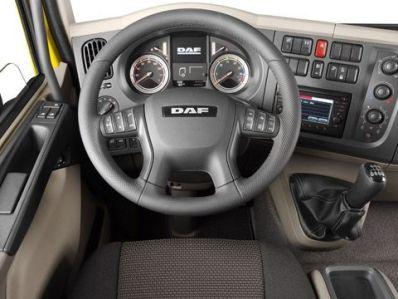 DAF серии LF Euro 5 внутреннее пространство кабины