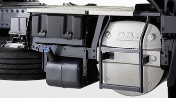 DAF XF105 Шасси