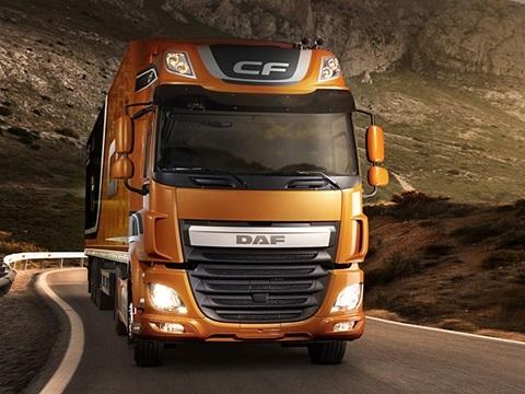 DAF CF Евро 6. Разработан с учетом ваших потребностей.