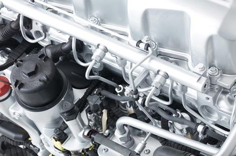 DAF CF Евро 6. CF Construction двигатели
