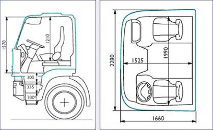 Кабина Hi-Land - идеальное решение для коротких рейсов