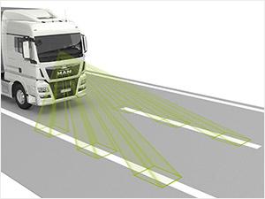 Система слежения за дорожной разметкой (LGS)
