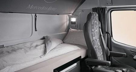 Mercedes-Benz Axor. Спальные места