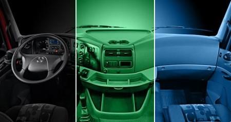 Mercedes-Benz Axor. Внутреннее освещение