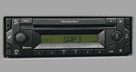 Mercedes-Benz Axor. Радио и телефон