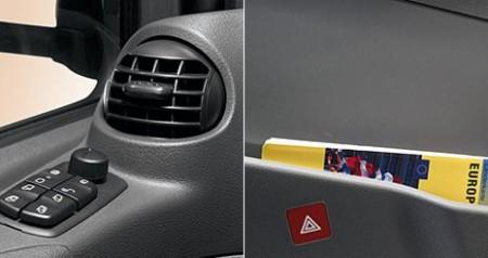 Mercedes-Benz Axor. Дверной модуль