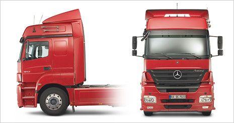 Mercedes-Benz Axor. Кабина L с высокой крышей