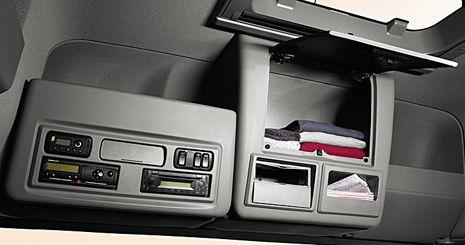 Mercedes-Benz Axor. Концепция размещения вещей
