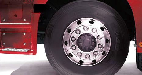 Mercedes-Benz Axor. Легкосплавные диски