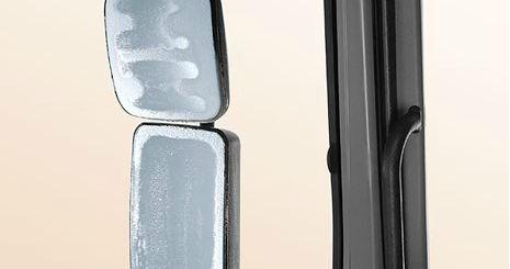 Mercedes-Benz Axor. Зеркала