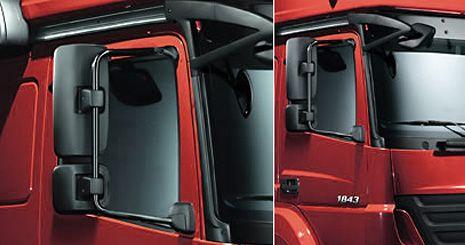 Mercedes-Benz Axor. Аэродинамические элементы
