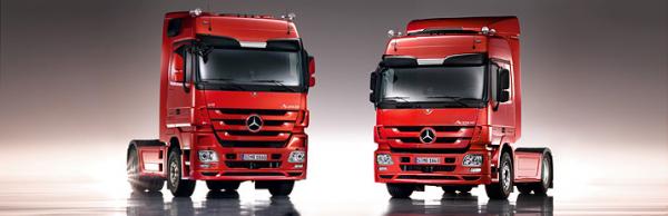Кабины для грузовиков Actros