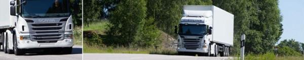 Scania. Развозные операции