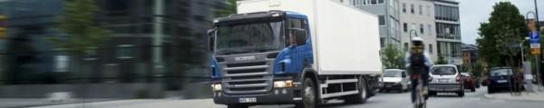 Scania. Фургон