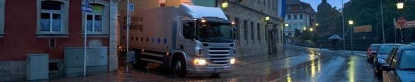 Scania. Тент